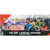 2017 Topps Stadium Club MLS Soccer Hobby Box