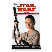 Star Wars Journey to The Last Jedi Hobby Pack (Topps 2017)