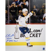 Evan Rodrigues Autographed Buffalo Sabres 11x14 Hockey Photo