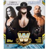 2017 Topps WWE Legends Wrestling Hobby Mini-Box