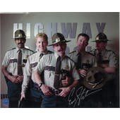 Erik Stolhanske Autographed Super Troopers Pose 8x10 Photo