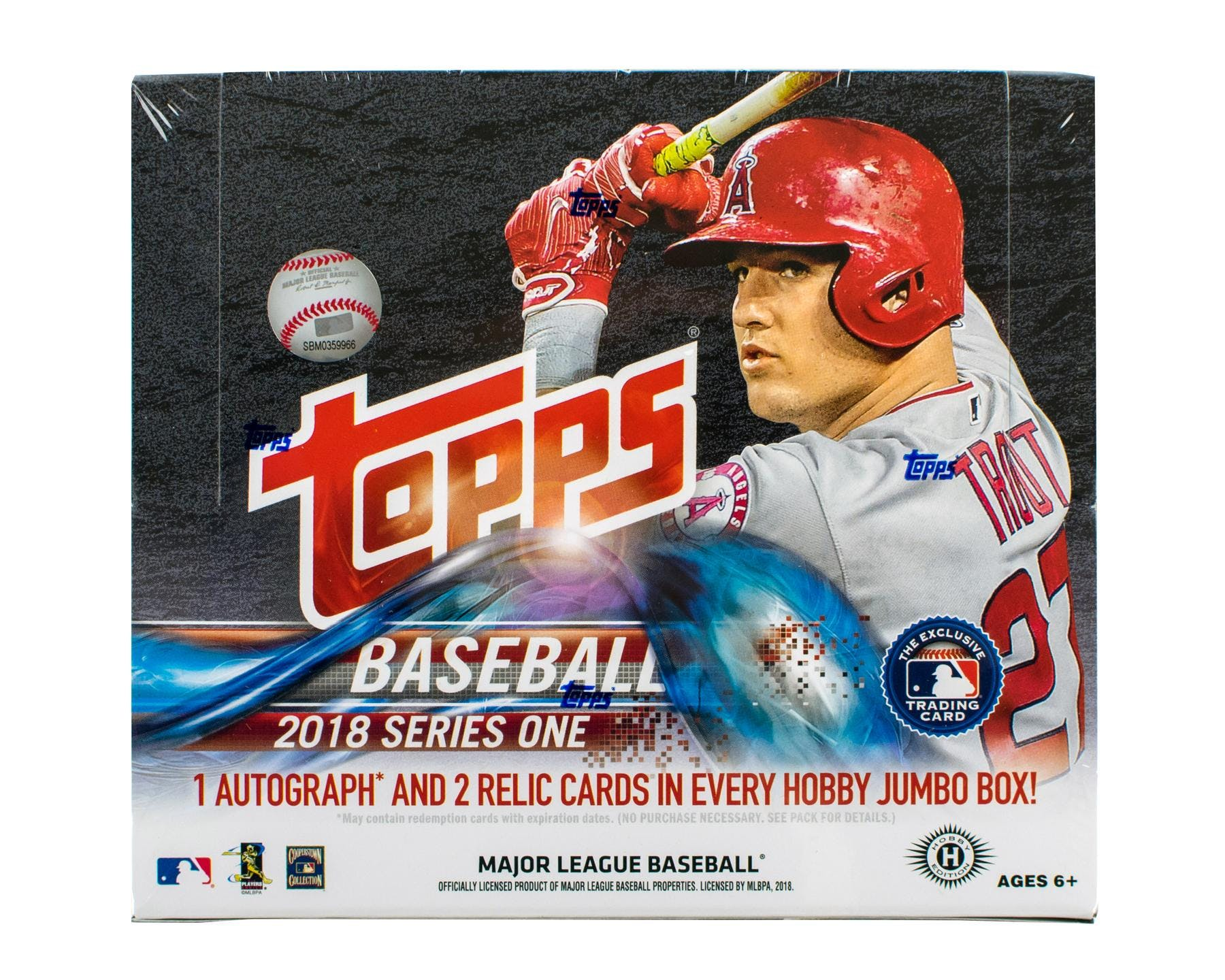 8cfffeb9114 2018 Topps Series 1 Baseball Hobby Jumbo Box | DA Card World
