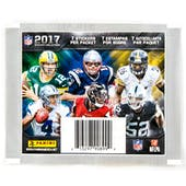 2017 Panini NFL Football Sticker Pack