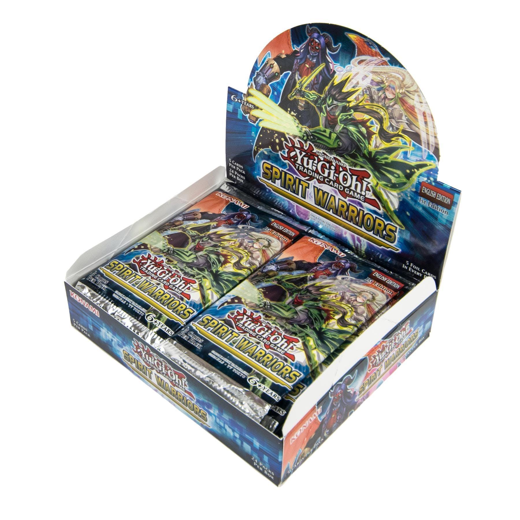 Yu-Gi-Oh Spirit Warriors 1st Edition Booster Box