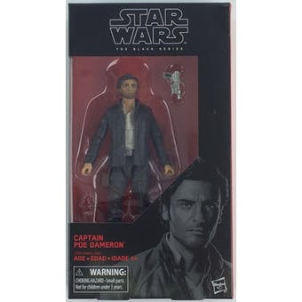 Star Wars E8 Last Jedi Black Series Captain Poe Dameron Figure