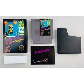 Nintendo (NES) Gumshoe Boxed Complete