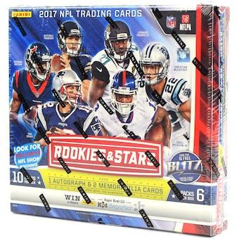 2017 Panini Rookies & Stars Longevity Football Box
