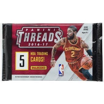 2016/17 Panini Threads Basketball Retail Pack (Lot of 24)