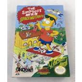 Nintendo (NES) The Simpsons VS. The Space Mutants AVGN James Rolfe Yellow Autograph Box Complete