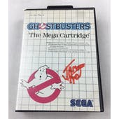 Sega Master System Ghostbusters AVGN James Rolfe Red Autograph Boxed
