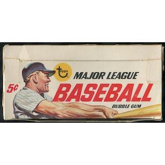 1967 Topps Baseball 5-Cent Display Box