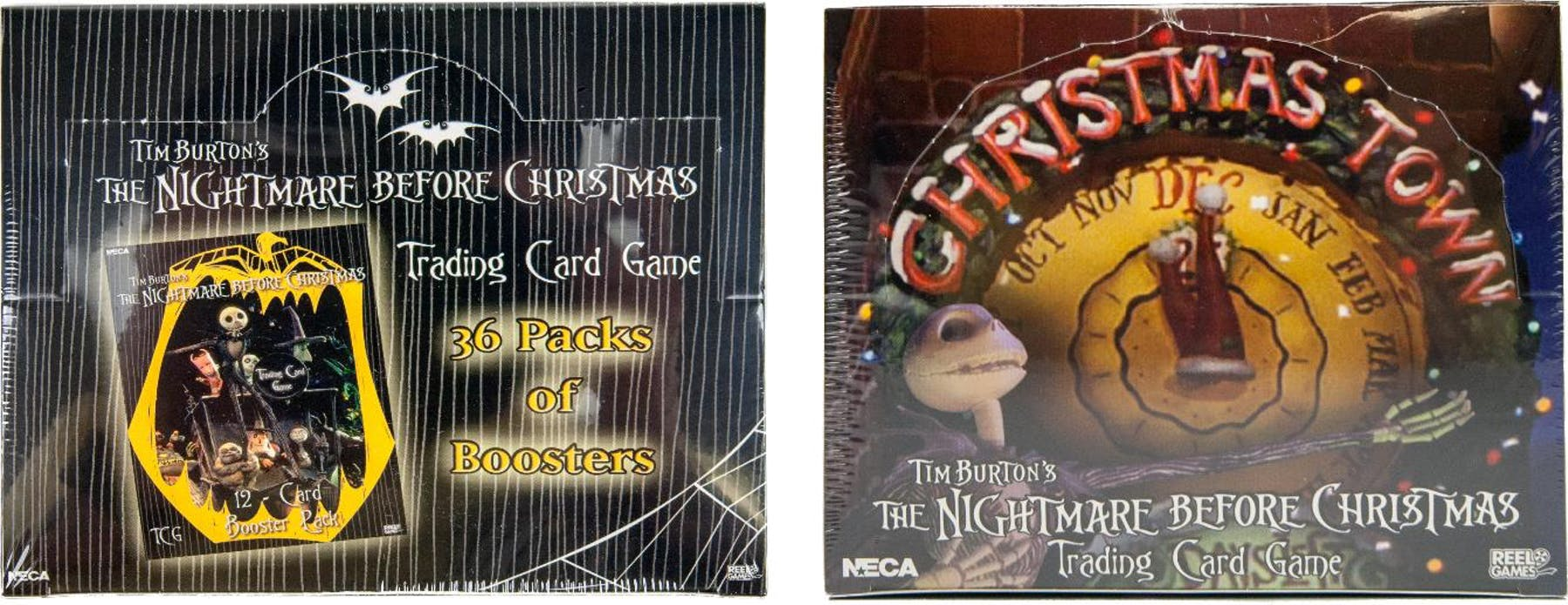 Nightmare Before Christmas TCG Booster Box Combo - Base Set and ...