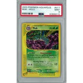 Pokemon Aquapolis Muk H17/H32 PSA 9