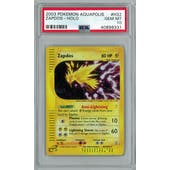 Pokemon Aquapolis Zapdos H32/H32 PSA 10 GEM MINT