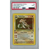 Pokemon Fossil 1st Edition Kabutops 9/62 PSA 9