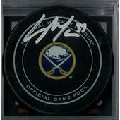 13e18f9a1 Casey Mittelstadt Autographed Buffalo Sabres Official Game Puck