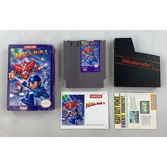 Nintendo (NES) Mega Man 5 Boxed Complete (Box Rough Condition)