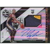 2015/16 Limited #12 Trey Lyles Holo Gold Spotlight Rookie Patch Auto #01/10