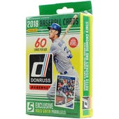 2018 Panini Donruss Baseball Hanger Box