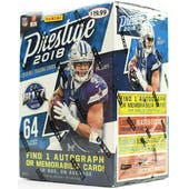 2018 Panini Prestige Football 8-Pack Blaster Box (Lot of 20)