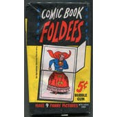 1966 Topps Comic Book Foldees Pack