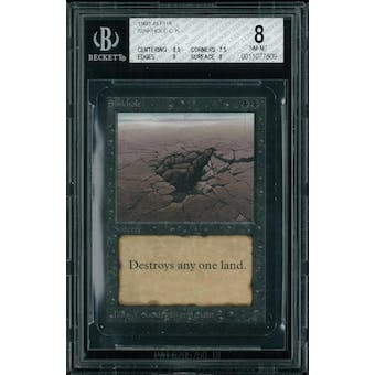 Magic the Gathering Alpha Sinkhole BGS 8 (8.5, 7.5, 8, 8)