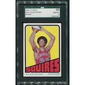 1972/73 Topps Basketball #195 Julius Erving Rookie SGC 88 (NM-MT 8)