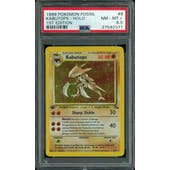 Pokemon Fossil 1st Edition Kabutops 9/62 PSA 8.5