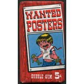 1967 Topps Wanted Posters Pack