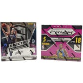 COMBO DEAL - 2018/19 Panini Basketball Hobby Box (Spectra, Prizm Fast Break)
