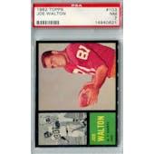 1962 Topps Football #103 Joe Walton PSA 7 (NM) *0621