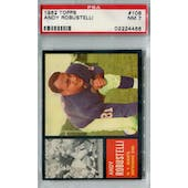 1962 Topps Football #108 Andy Robustellil PSA 7 (NM) *4466
