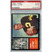 1962 Topps Football #127 Bobby Layne PSA 7 (NM) *6789