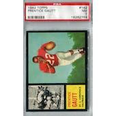 1962 Topps Football #142 Prentice Gautt SP PSA 7 (NM) *2758