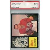 1962 Topps Football #148 Bill Stacy PSA 7 (NM) *7373