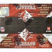 2009 Upper Deck SP Threads Football Hobby Box