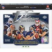 2010 Topps Platinum Football Hobby Box