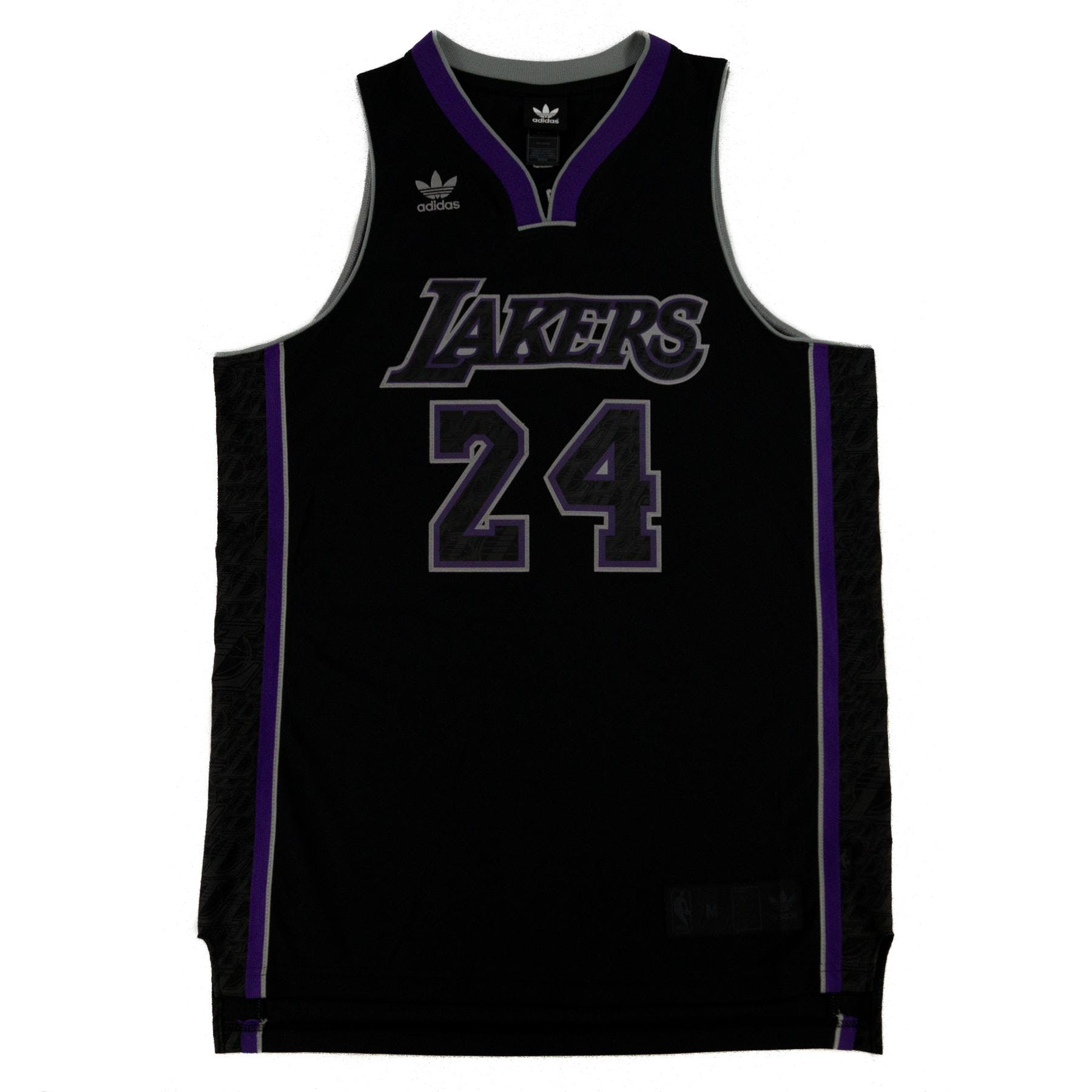 Kobe Bryant Los Angeles Lakers Black Adidas Carbon Jersey  d8fcc9c4c