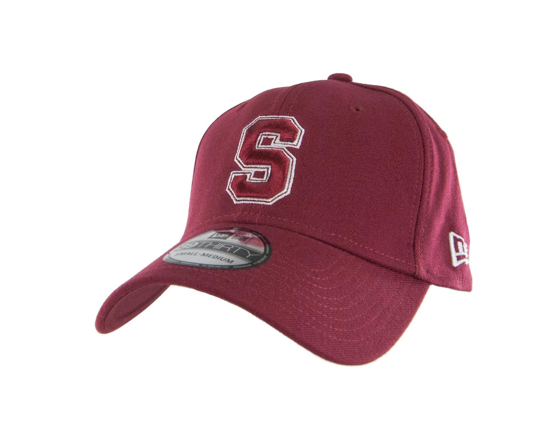 0d650055ac7 Stanford Cardinal New Era 39Thirty Team Classic Maroon Flex Fit Hat ...