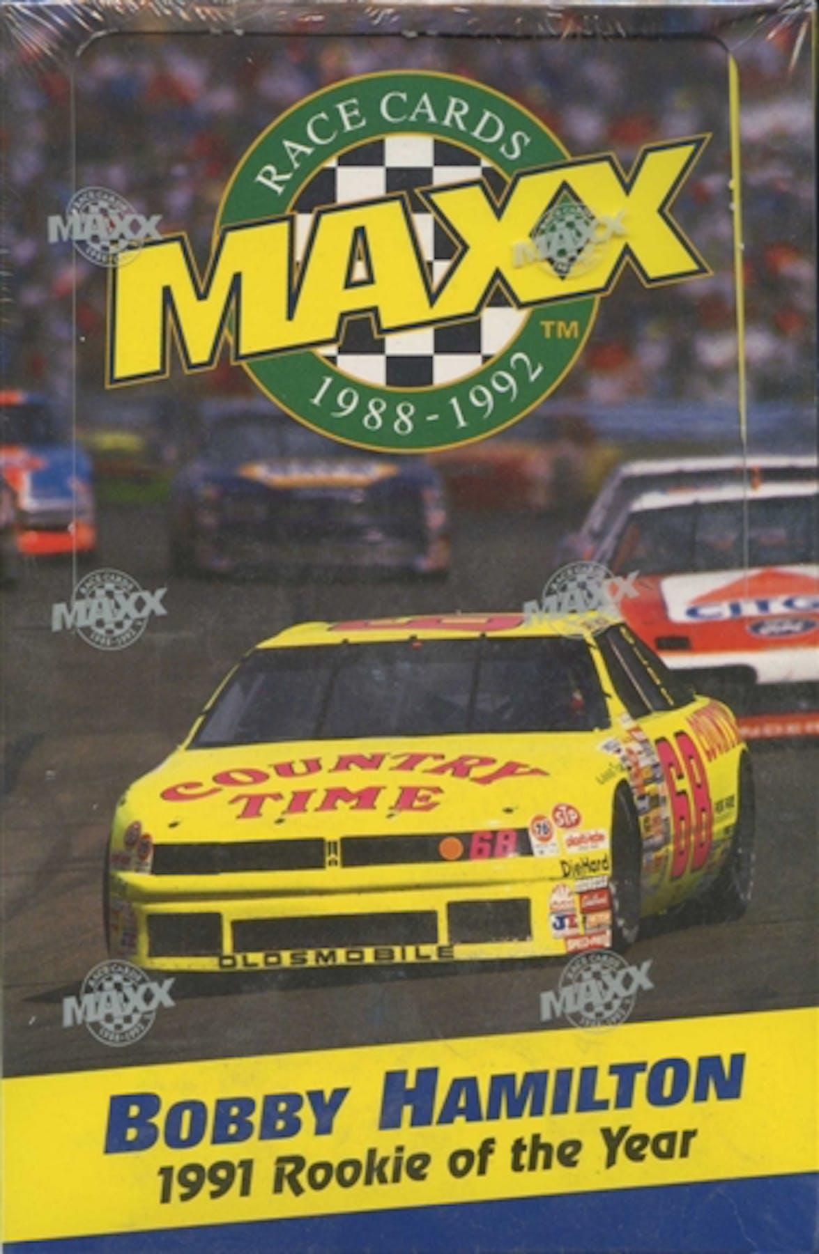 1992 J.R. Maxx Inc. Maxx Racing Wax Box | DA Card World