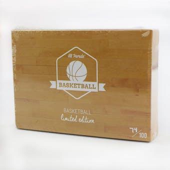 2018/19 Hit Parade Basketball Limited Edition - Series 5 - Hobby Box /100 Jordan-LeBron-Curry-Tatum-Mitchell