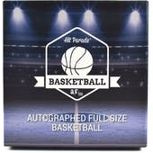 2018/19 Hit Parade Auto Full Size Basketball 1-Box Series 3- DACW Live 6 Spot Random Division Break #3
