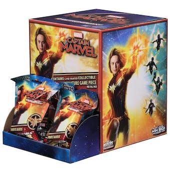 Marvel Heroclix: Captain Marvel Movie Gravity Feed Box (24 Ct)