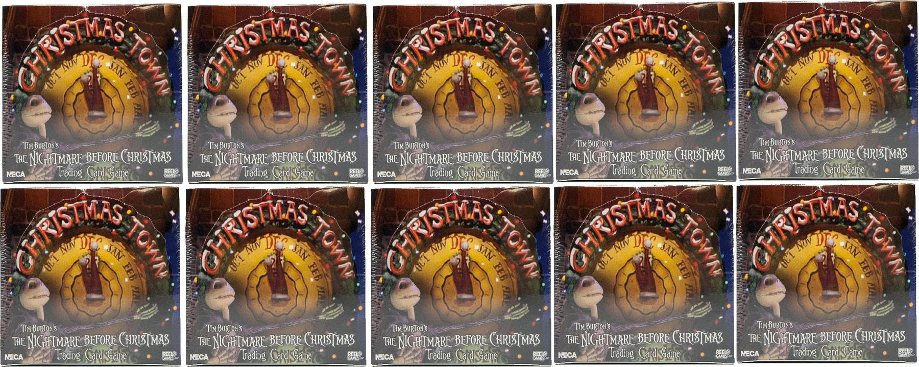 Nightmare Before Christmas TCG Christmas Town Expansion Booster Box ...