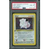 Pokemon Base Set 1st Edition GERMAN Clefairy Piepi 5/102 PSA 8
