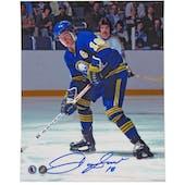 Danny Gare Autographed Buffalo Sabres HOF 8x10 Hockey Photo