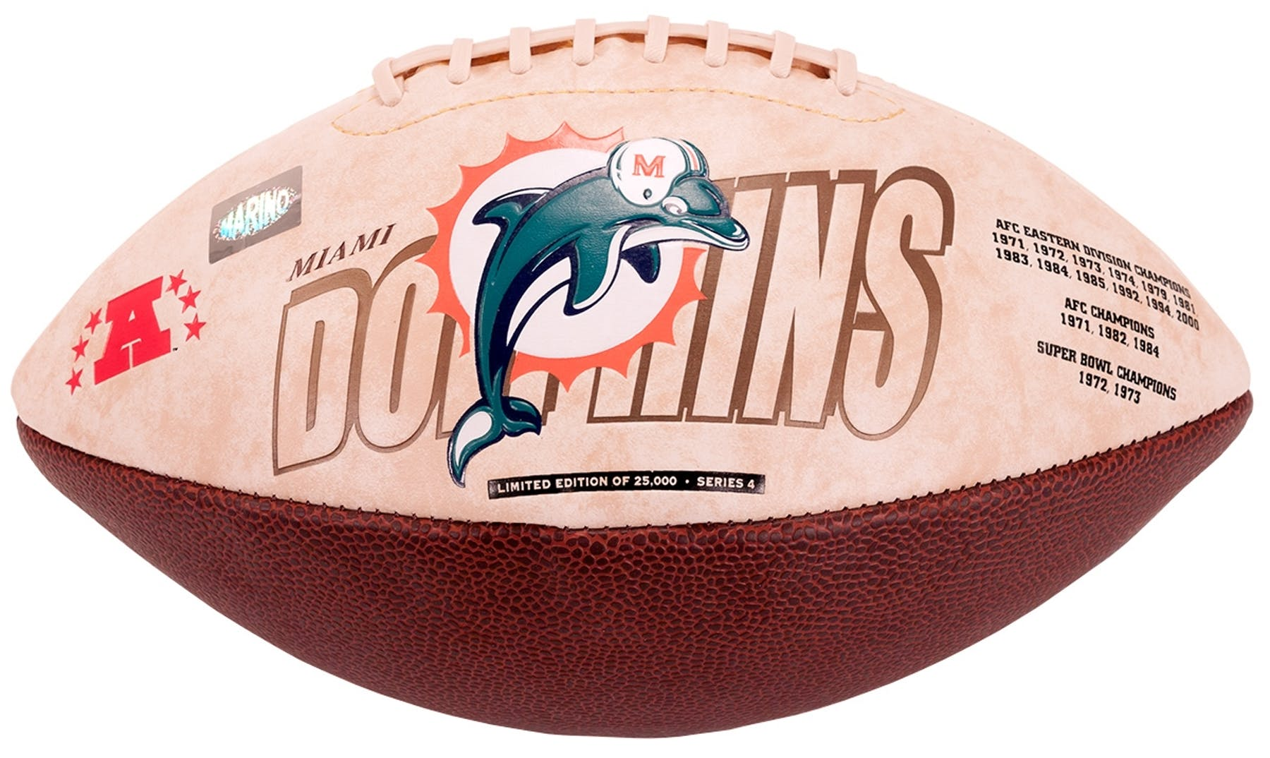 2609fb343bd Dan Marino Autographed Miami Dolphins Limited Edition Football (Marino  Hologram)
