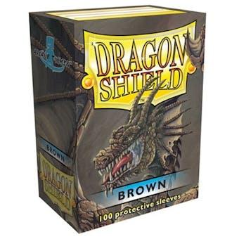 Dragon Shield Card Sleeves - Brown (100)