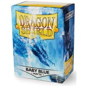 Dragon Shield Card Sleeves - Matte Baby Blue (100)
