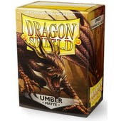 Dragon Shield Card Sleeves - Matte Umber (100)